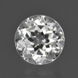 thumb image of 4.8ct Round Facet White Topaz (ID: 422582)