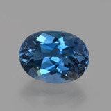 thumb image of 2.4ct Oval Facet London Blue Topaz (ID: 423573)