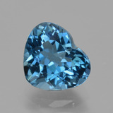 thumb image of 2.4ct Heart Facet London Blue Topaz (ID: 423625)