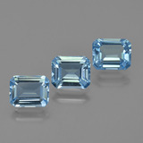 thumb image of 3.8ct Octagon Facet Swiss Blue Topaz (ID: 424185)