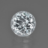 thumb image of 3.8ct Round Facet White Topaz (ID: 425648)