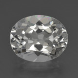 thumb image of 5.5ct Oval Facet White Topaz (ID: 425870)