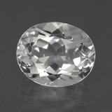 thumb image of 5.6ct Oval Facet White Topaz (ID: 425943)