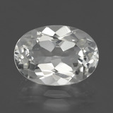 thumb image of 5.1ct Oval Facet White Topaz (ID: 425950)