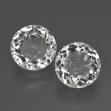 thumb image of 3.4ct Round Facet White Topaz (ID: 425989)