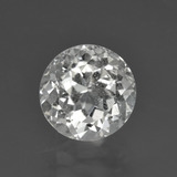 thumb image of 3.5ct وجه دائرى Warm White توباز (ID: 425992)