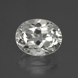 thumb image of 3.5ct Oval Facet White Topaz (ID: 426051)