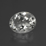 thumb image of 3.1ct Oval Facet White Topaz (ID: 426059)