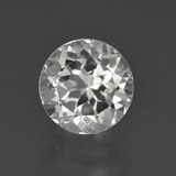 thumb image of 3.1ct Round Facet White Topaz (ID: 426190)