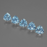 thumb image of 3ct Trillion Facet Swiss Blue Topaz (ID: 428000)