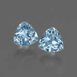 thumb image of 1.2ct Trillion Facet Swiss Blue Topaz (ID: 428194)