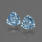 thumb image of 1.2ct Trillion Facet Swiss Blue Topaz (ID: 428195)
