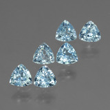 thumb image of 1.8ct Trillion Facet Swiss Blue Topaz (ID: 428837)