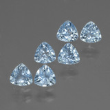 thumb image of 1.8ct Trillion Facet Swiss Blue Topaz (ID: 428839)