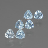 thumb image of 1.9ct Trillion Facet Swiss Blue Topaz (ID: 429159)