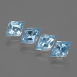 thumb image of 2.5ct Rhomb Facet Swiss Blue Topaz (ID: 429365)