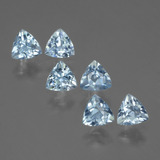 thumb image of 1.9ct Trillion Facet Swiss Blue Topaz (ID: 429429)