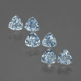 thumb image of 2ct Trillion Facet Swiss Blue Topaz (ID: 429431)