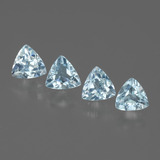 thumb image of 2ct Trillion Facet Swiss Blue Topaz (ID: 429738)
