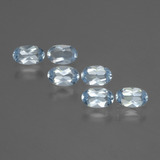 thumb image of 1.5ct Oval Facet Swiss Blue Topaz (ID: 429811)