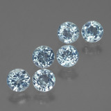 thumb image of 2.6ct Round Facet Swiss Blue Topaz (ID: 429843)