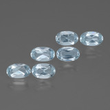 thumb image of 1.5ct Oval Facet Swiss Blue Topaz (ID: 429879)