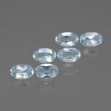 thumb image of 1.7ct Oval Facet Swiss Blue Topaz (ID: 429880)