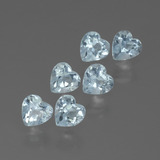 thumb image of 1.9ct Heart Facet Swiss Blue Topaz (ID: 430127)