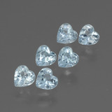 thumb image of 1.7ct Heart Facet Swiss Blue Topaz (ID: 430196)