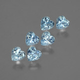 thumb image of 1.8ct Heart Facet Swiss Blue Topaz (ID: 430335)