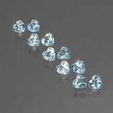 thumb image of 2.9ct Heart Facet Swiss Blue Topaz (ID: 430386)