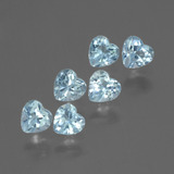 thumb image of 1.7ct Heart Facet Swiss Blue Topaz (ID: 430426)