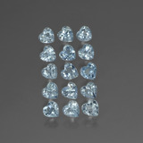 thumb image of 4.2ct Heart Facet Swiss Blue Topaz (ID: 430528)