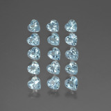 thumb image of 4.5ct Heart Facet Swiss Blue Topaz (ID: 430537)
