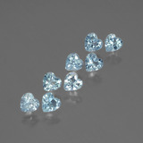 thumb image of 2.4ct Heart Facet Swiss Blue Topaz (ID: 430749)