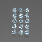 thumb image of 4.1ct Heart Facet Swiss Blue Topaz (ID: 430841)