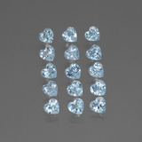 thumb image of 4.1ct Heart Facet Swiss Blue Topaz (ID: 430847)