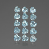 thumb image of 4.3ct Heart Facet Swiss Blue Topaz (ID: 430879)