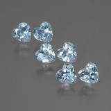 thumb image of 1.8ct Heart Facet Swiss Blue Topaz (ID: 430910)