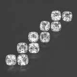 thumb image of 4.9ct Cushion-Cut White Topaz (ID: 432181)