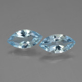 thumb image of 3.6ct Marquise Facet Swiss Blue Topaz (ID: 432674)