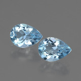 thumb image of 1.7ct Pear Facet Swiss Blue Topaz (ID: 432704)