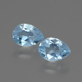 thumb image of 1.6ct Pear Facet Swiss Blue Topaz (ID: 432707)