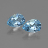 thumb image of 0.8ct Pear Facet Swiss Blue Topaz (ID: 433256)