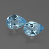 thumb image of 1.6ct Pear Facet Swiss Blue Topaz (ID: 433289)