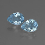 thumb image of 1.5ct Pear Facet Swiss Blue Topaz (ID: 433309)