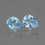 thumb image of 1.4ct Pear Facet Swiss Blue Topaz (ID: 433313)