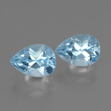 thumb image of 1.9ct Pear Facet Swiss Blue Topaz (ID: 433314)
