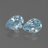 thumb image of 1.7ct Pear Facet Swiss Blue Topaz (ID: 433320)