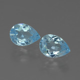 thumb image of 1.7ct Pear Facet Swiss Blue Topaz (ID: 433366)